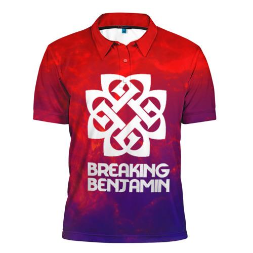 Мужская рубашка поло 3D  Фото 01, Breaking benjamin space rock