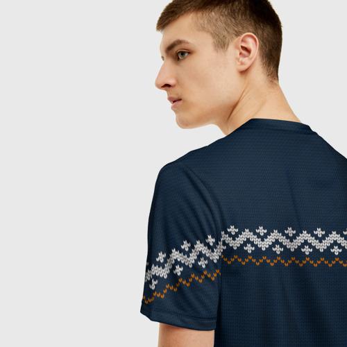 Мужская футболка 3D Неприличные Олени Фото 01