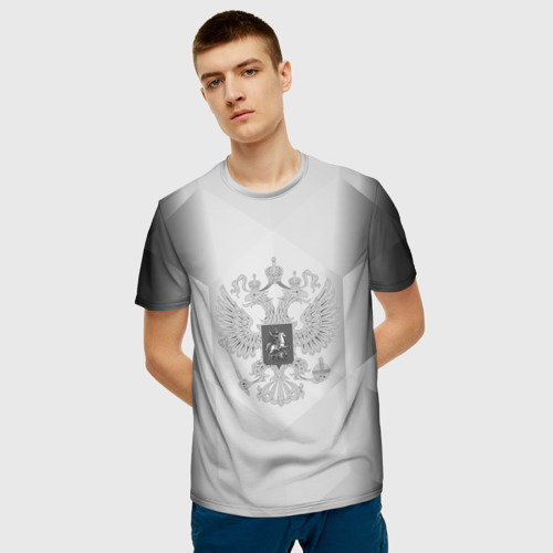 Мужская футболка 3D RUSSIA - Black Collection Фото 01