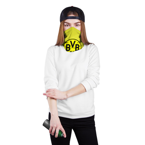 Бандана-труба 3D  Фото 02, FC Borussia 2018 Original