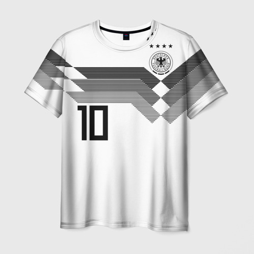 Мужская футболка 3D Месут Озил ЧМ 2018