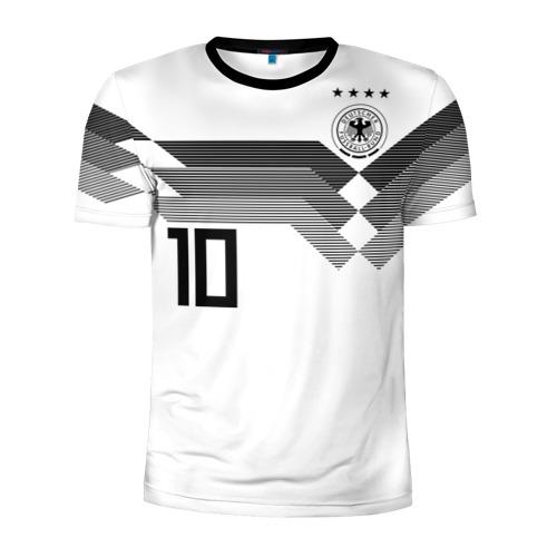 Мужская футболка 3D спортивная Месут Озил ЧМ 2018