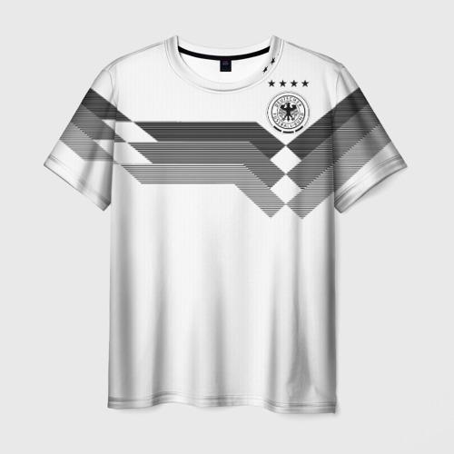 Мужская футболка 3D Германия Чемпионат мира 2018