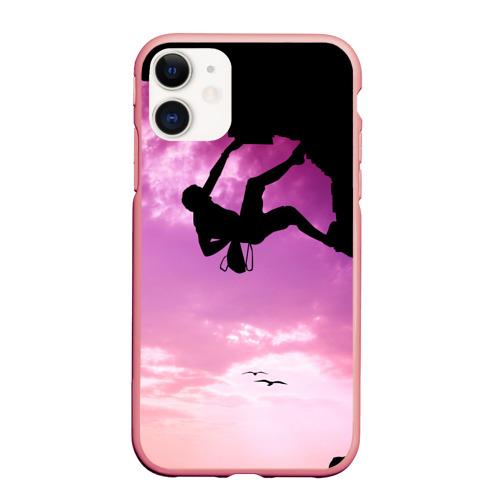 Чехол для iPhone 11 матовый climbing Фото 01