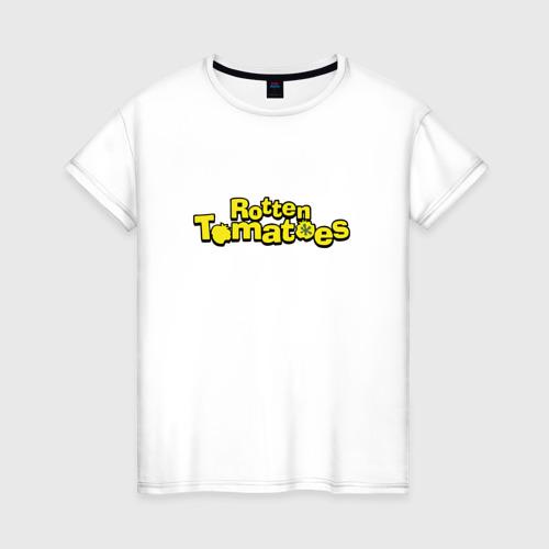 Женская футболка хлопок Rotten Tomatoes