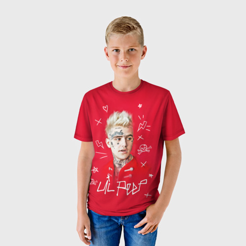Детская футболка 3D Лил Пип Фото 01
