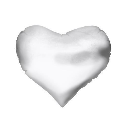 Подушка 3D сердце  Фото 02, White Peep