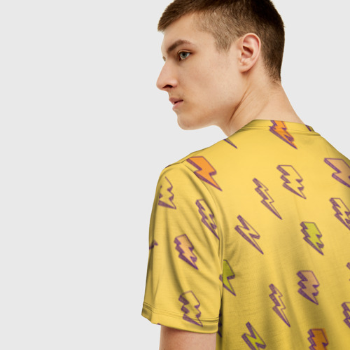 Мужская футболка 3D Thunder Peep Фото 01