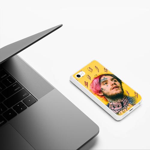 Чехол для iPhone 5/5S матовый Thunder Peep Фото 01