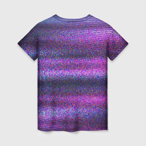 Женская футболка 3D Glitch Peep Фото 01