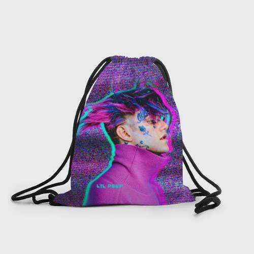 Рюкзак-мешок 3D Glitch Peep Фото 01