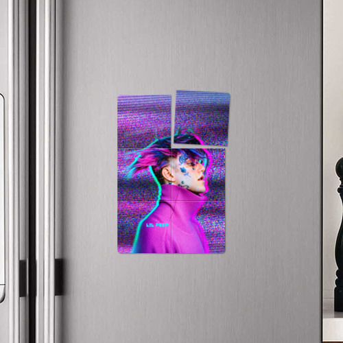 Магнитный плакат 2Х3 Glitch Peep Фото 01