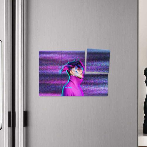 Магнитный плакат 3Х2 Glitch Peep Фото 01