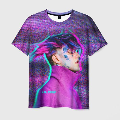 Мужская футболка 3D  Фото 01, Glitch Peep