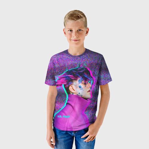 Детская футболка 3D Glitch Peep