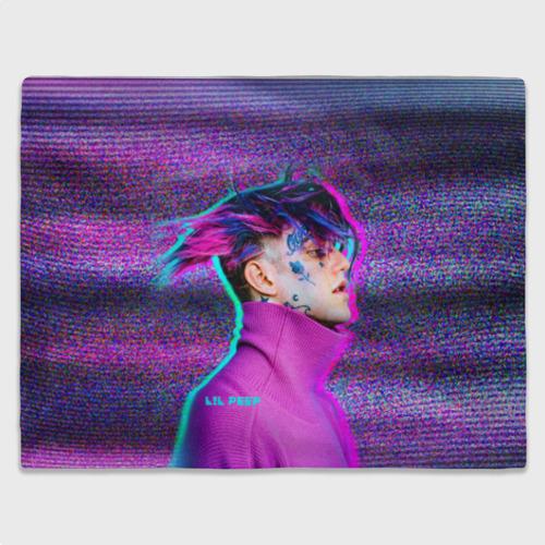 Плед 3D Glitch Peep Фото 01