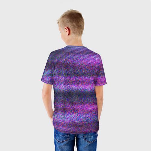 Детская футболка 3D Glitch Peep Фото 01