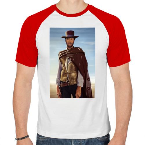 Мужская футболка реглан  Фото 01, Clint  Eastwood