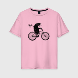 Ежик на велосипеде