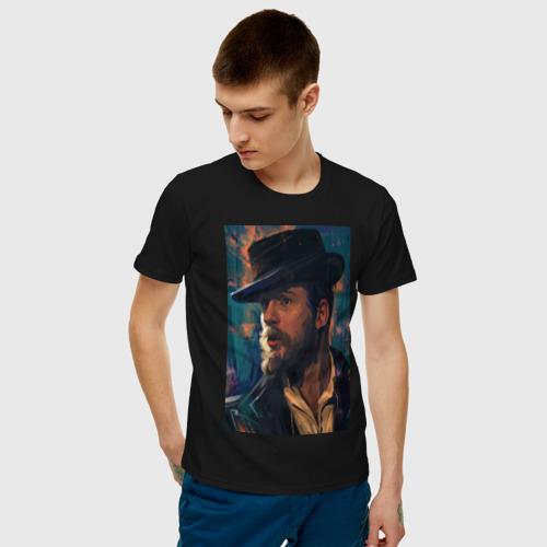 Мужская футболка хлопок Peaky blinders Фото 01