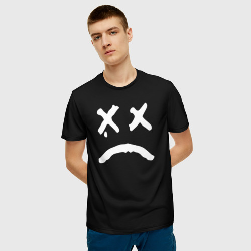 Мужская футболка 3D LiL PEEP RIP Фото 01