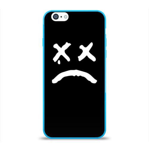 Чехол для iPhone 6/6S глянцевый LiL PEEP RIP Фото 01