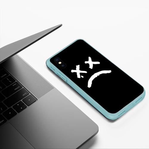Чехол для iPhone XS Max матовый LiL PEEP RIP Фото 01