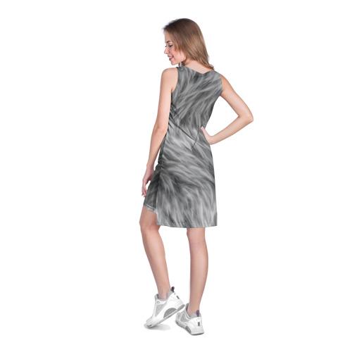 Платье-майка 3D  Фото 04, Шкура волка