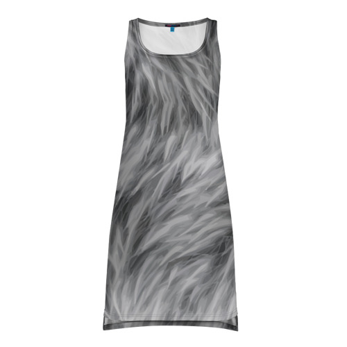 Платье-майка 3D  Фото 01, Шкура волка