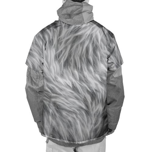 Накидка на куртку 3D  Фото 02, Шкура волка