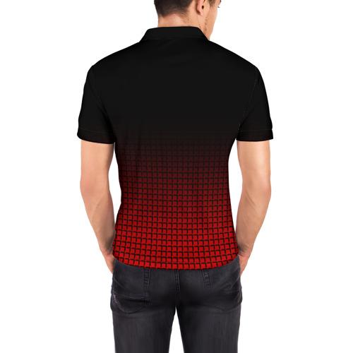 Мужская рубашка поло 3D  Фото 04, AC MILAN