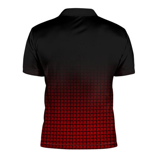Мужская рубашка поло 3D  Фото 02, AC MILAN
