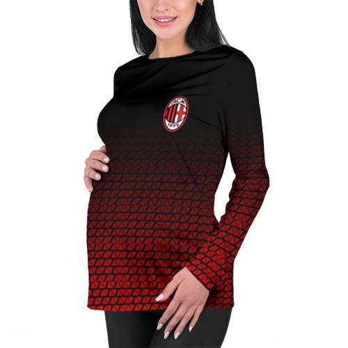 Женский лонгслив 3D для беременных  Фото 01, AC MILAN