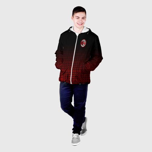 Мужская куртка 3D  Фото 03, AC MILAN