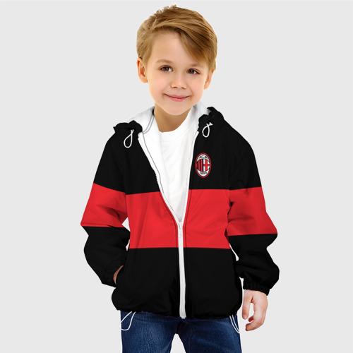 Детская куртка 3D  Фото 03, AC MILAN