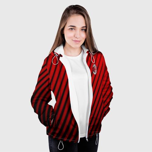Женская куртка 3D  Фото 04, AC MILAN
