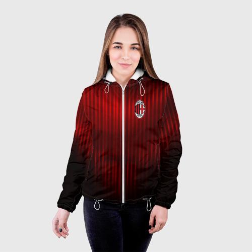 Женская куртка 3D  Фото 03, AC MILAN