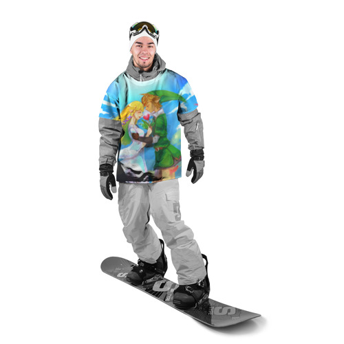Накидка на куртку 3D  Фото 03, Линк и Зельда