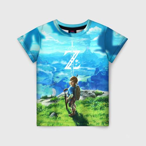 Детская футболка 3D Link 158 фото