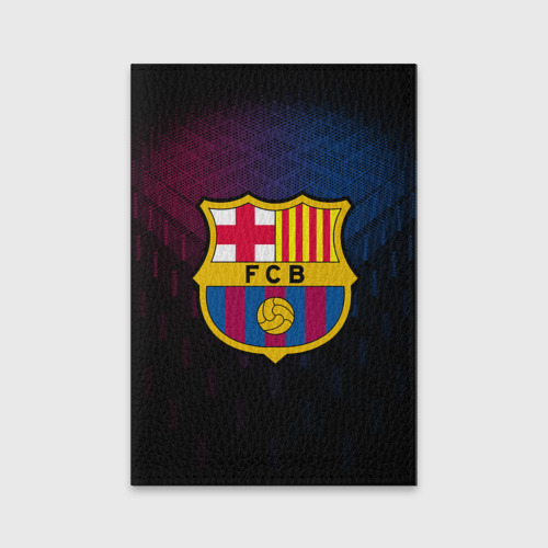 Обложка для паспорта матовая кожа FC Barca 2018 Original