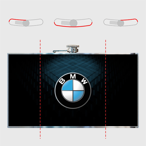 Фляга BMW BLUE LINE | БМВ Фото 01