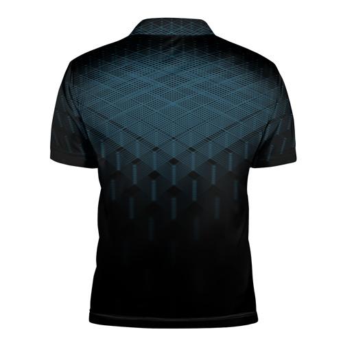 Мужская рубашка поло 3D  Фото 02, BMW 2018 Blue Line