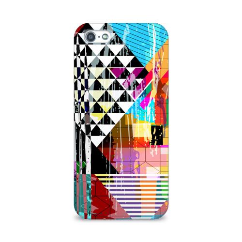 Чехол для Apple iPhone 5/5S 3D  Фото 01, abstraction&geometry