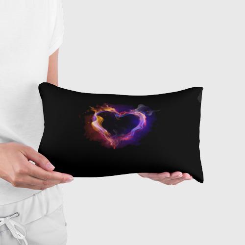 Подушка 3D антистресс  Фото 03, Огненное сердце