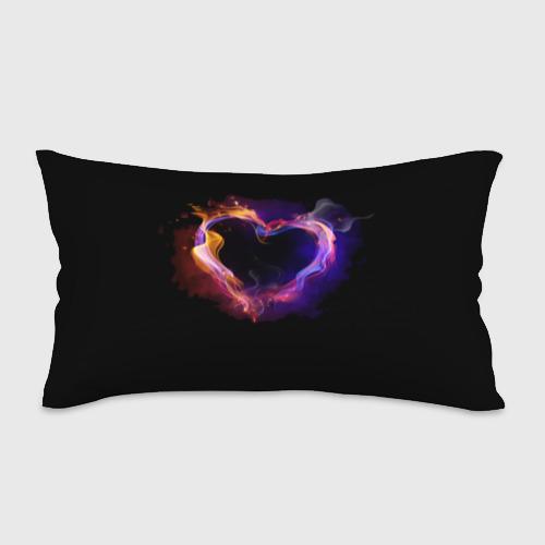 Подушка 3D антистресс  Фото 01, Огненное сердце