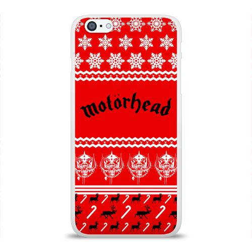 Чехол для Apple iPhone 6Plus/6SPlus силиконовый глянцевый  Фото 01, Праздничный Motrhead