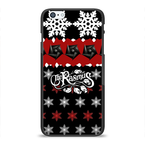 Чехол для Apple iPhone 6Plus/6SPlus силиконовый глянцевый  Фото 01, Праздничный The Rasmus