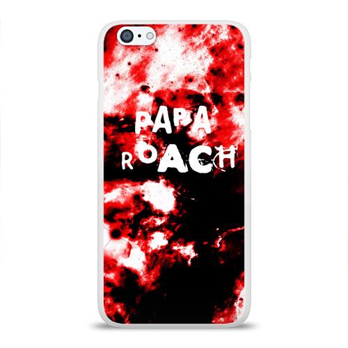 Чехол для Apple iPhone 6Plus/6SPlus силиконовый глянцевый  Фото 01, PAPA ROACH BLOOD ROCK STYLE