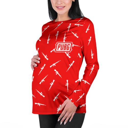 Женский лонгслив 3D для беременных  Фото 01, PUBG