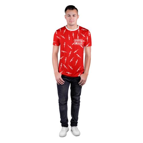 Мужская футболка 3D спортивная PUBG Фото 01